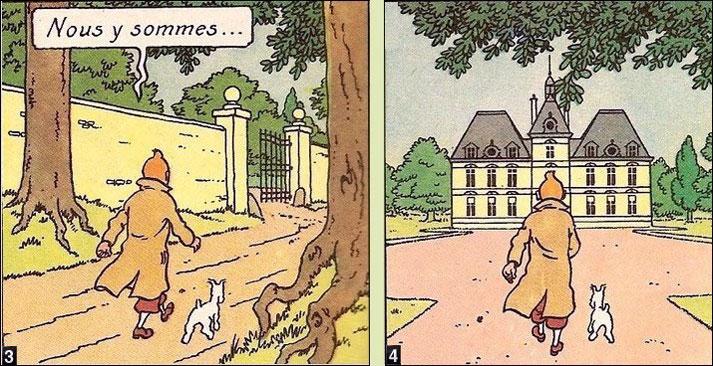 Quand Hergé se faisait chantre du paranormal Acces3-4